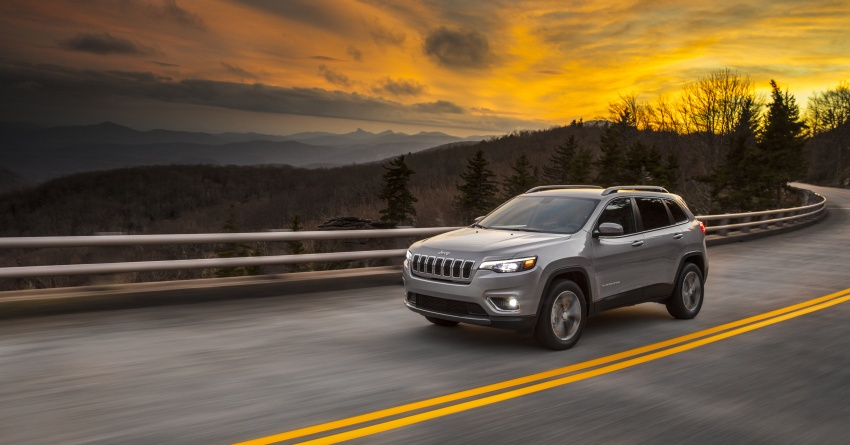 2019 Jeep Cherokee fully revealed – new 2.0L turbo Image #766404