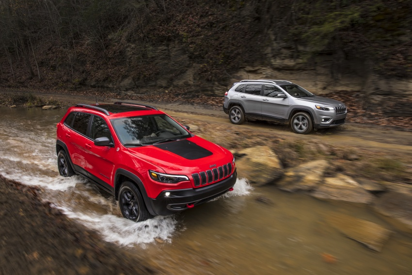 2019 Jeep Cherokee fully revealed – new 2.0L turbo Image #766407
