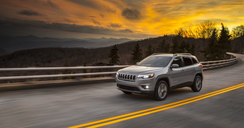 2019 Jeep Cherokee fully revealed – new 2.0L turbo Image #766488