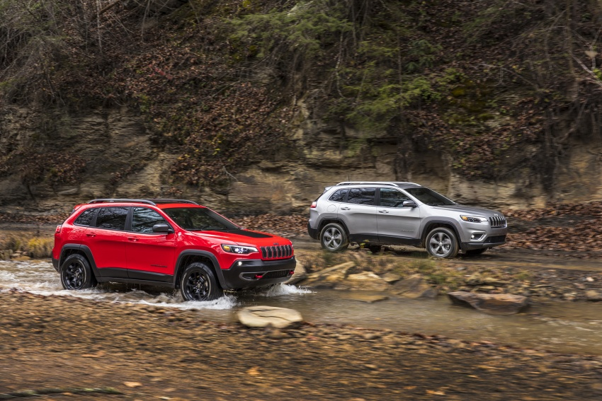 2019 Jeep Cherokee fully revealed – new 2.0L turbo Image #766408