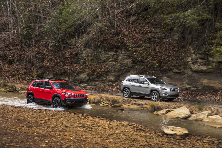 2019 Jeep Cherokee fully revealed – new 2.0L turbo Image #766409