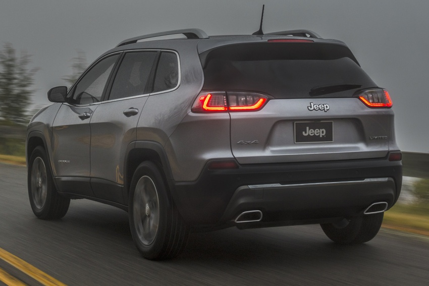 2019 Jeep Cherokee fully revealed – new 2.0L turbo Image #766508