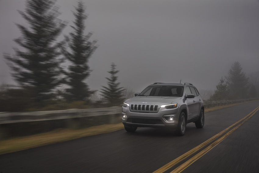 2019 Jeep Cherokee fully revealed – new 2.0L turbo Image #766510