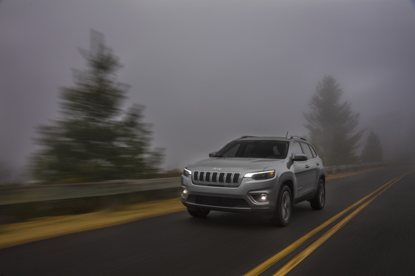 2019 Jeep Cherokee fully revealed – new 2.0L turbo Image #766512