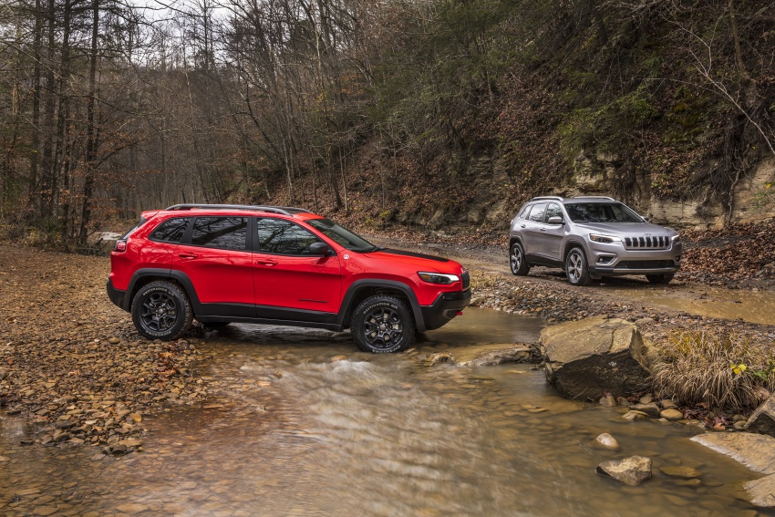 2019 Jeep Cherokee fully revealed – new 2.0L turbo Image #766410