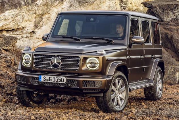 2018 mercedes benz g class all new inside and out. Black Bedroom Furniture Sets. Home Design Ideas