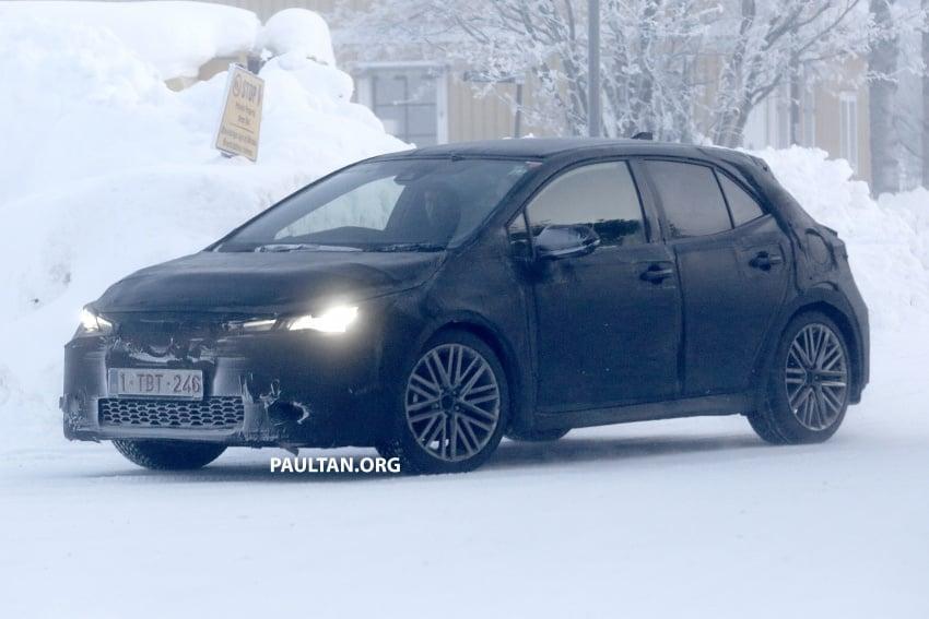 SPYSHOTS: Next-gen Toyota Corolla spotted testing Image #763901
