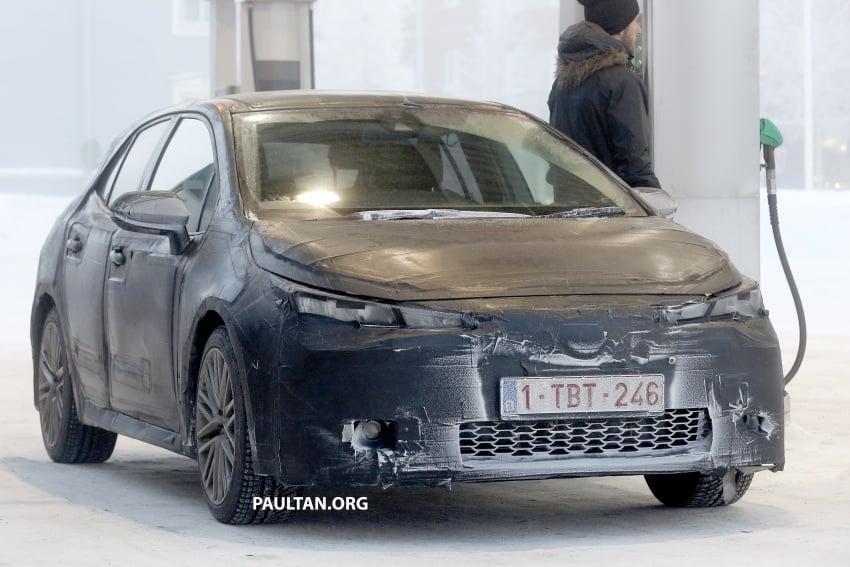 SPYSHOTS: Next-gen Toyota Corolla spotted testing Image #763908