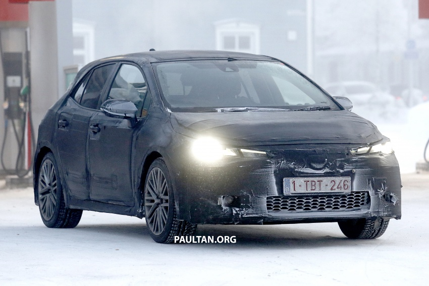SPYSHOTS: Next-gen Toyota Corolla spotted testing Image #763890