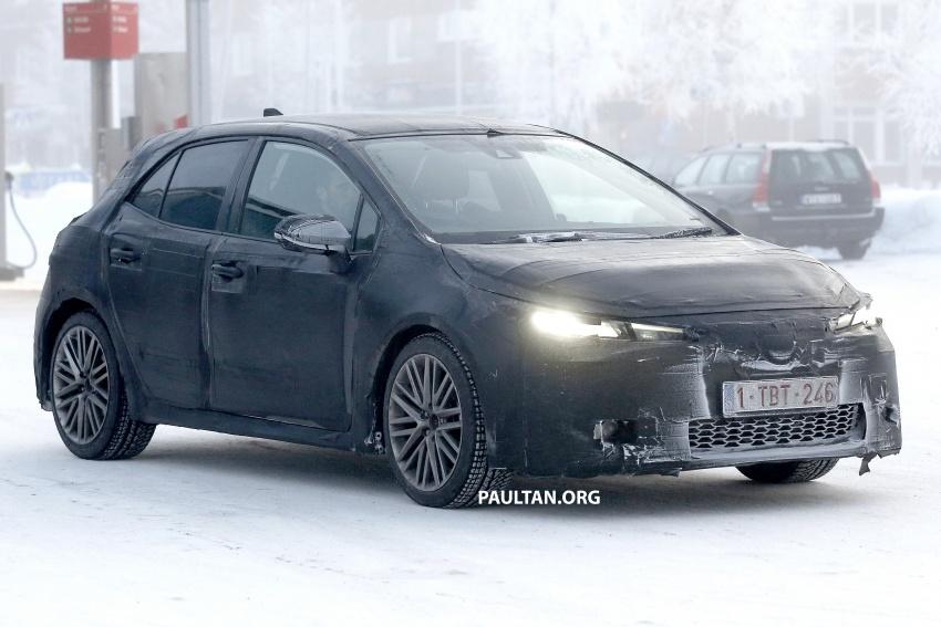 SPYSHOTS: Next-gen Toyota Corolla spotted testing Image #763891