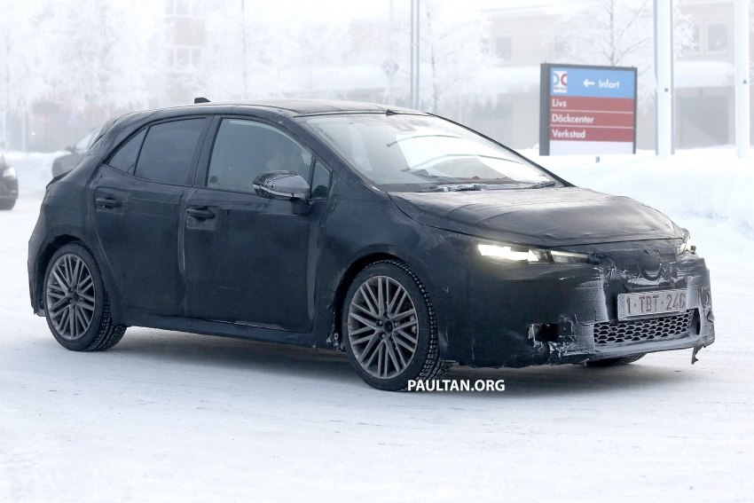 SPYSHOTS: Next-gen Toyota Corolla spotted testing Image #763892