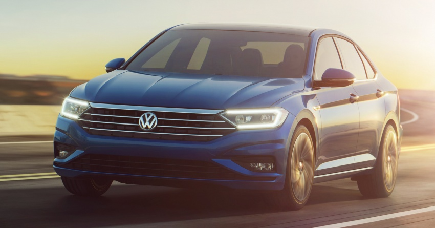 2019 Volkswagen Jetta officially unveiled in Detroit Image #761616