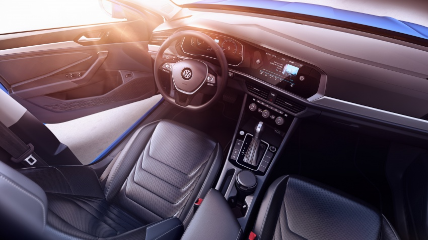 2019 Volkswagen Jetta officially unveiled in Detroit Image #761631
