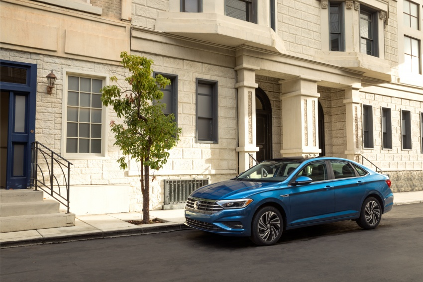 2019 Volkswagen Jetta officially unveiled in Detroit Image #761637