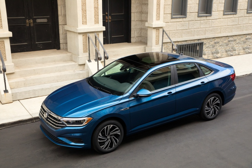 2019 Volkswagen Jetta officially unveiled in Detroit Image #761639
