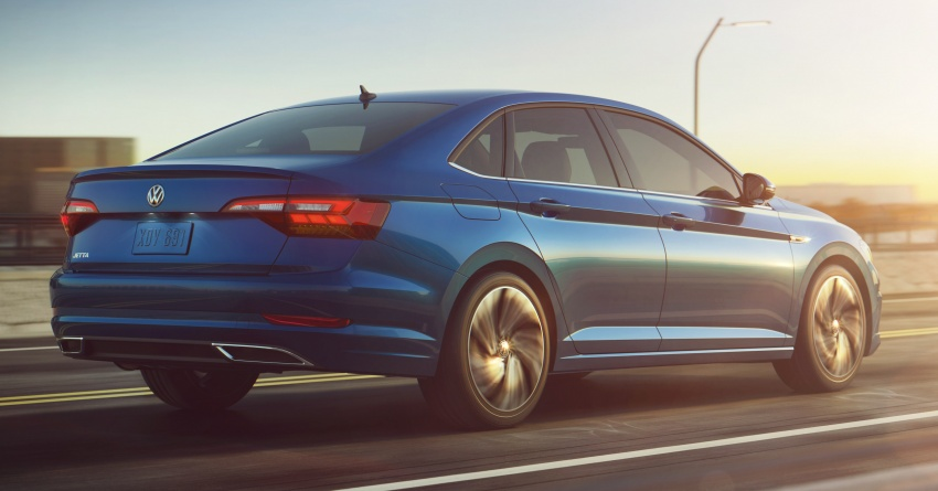 2019 Volkswagen Jetta officially unveiled in Detroit Image #761617