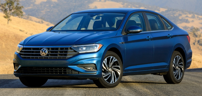 2019 Volkswagen Jetta officially unveiled in Detroit Image #761640