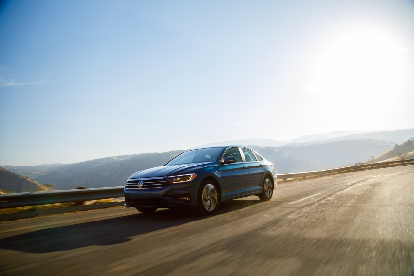 2019 Volkswagen Jetta officially unveiled in Detroit Image #761622