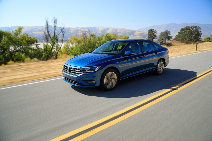 2019 Volkswagen Jetta officially unveiled in Detroit Image #761623