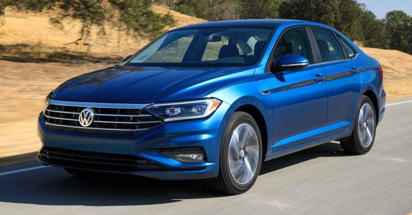 2019 Volkswagen Jetta officially unveiled in Detroit Image #761626