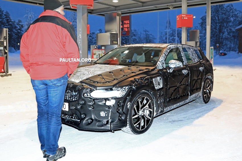 SPYSHOTS: 2019 Volvo V60 spotted for the first time Image #770860