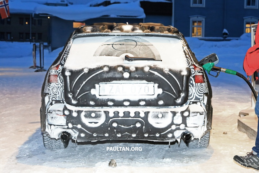 SPYSHOTS: 2019 Volvo V60 spotted for the first time Image #770866