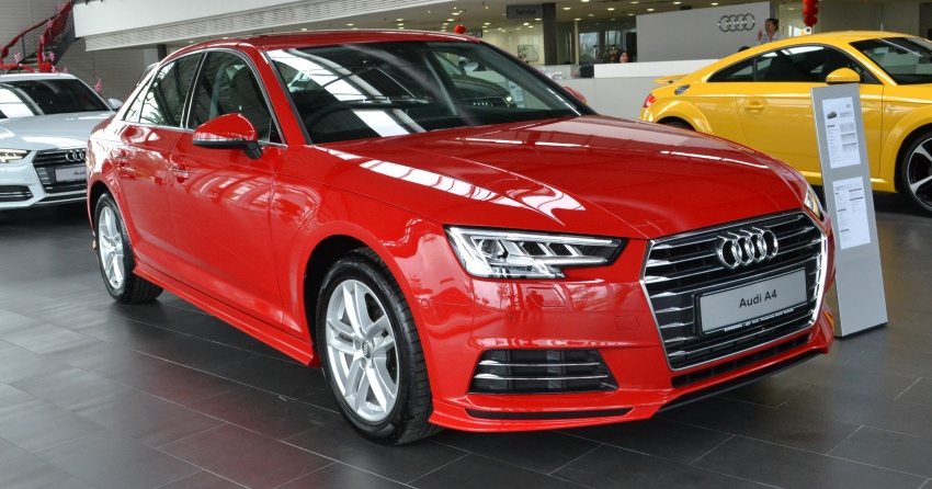 Ad Audi A4 2 0 Tfsi Now Available With Audi Genuine