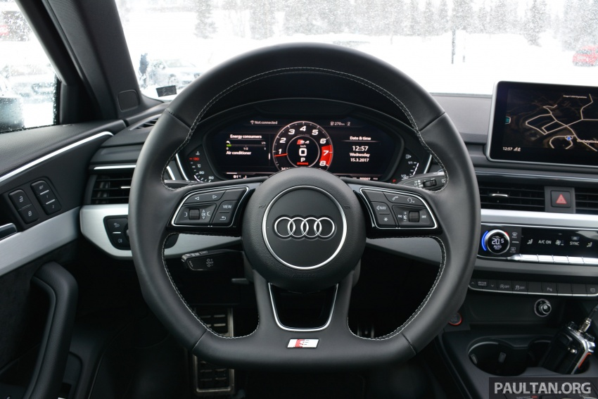 Audi Ice Driving Experience Finland with the S4 Avant – learning to drive in the winter with the aid of quattro Image #769943