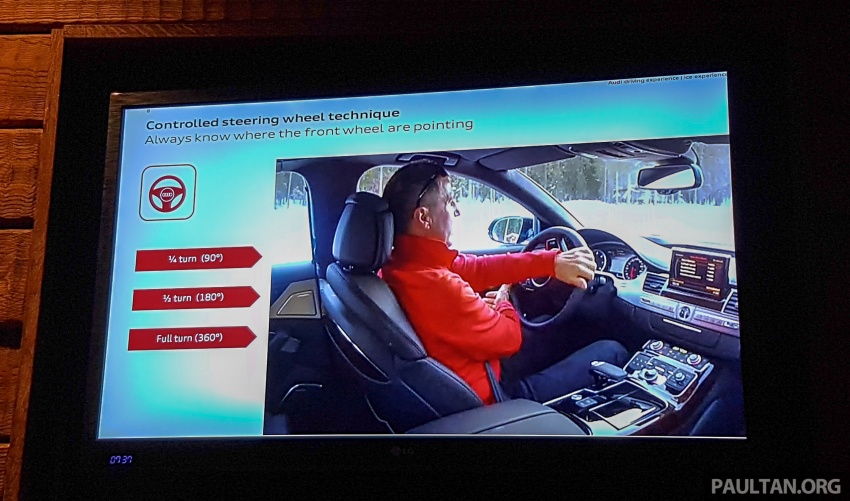Audi Ice Driving Experience Finland with the S4 Avant – learning to drive in the winter with the aid of quattro Image #769919