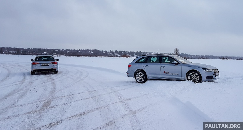 Audi Ice Driving Experience Finland with the S4 Avant – learning to drive in the winter with the aid of quattro Image #769952