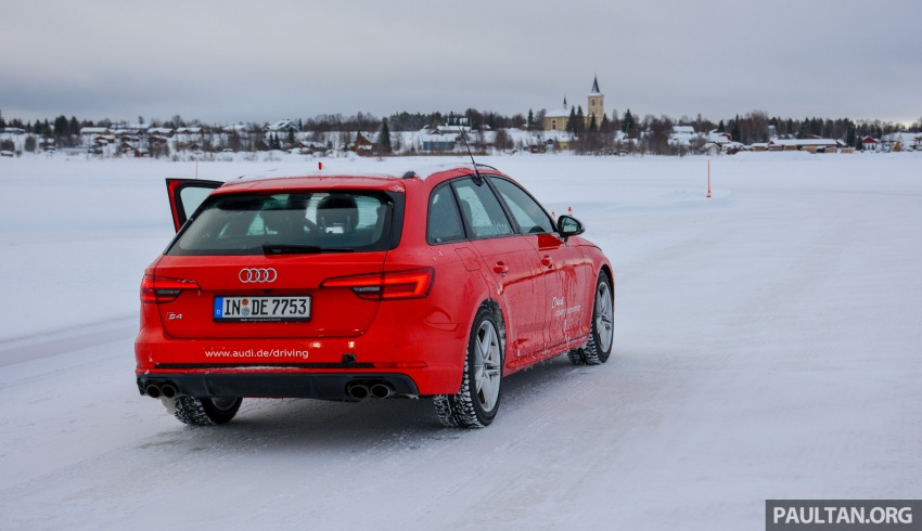 Audi Ice Driving Experience Finland with the S4 Avant – learning to drive in the winter with the aid of quattro Image #769953