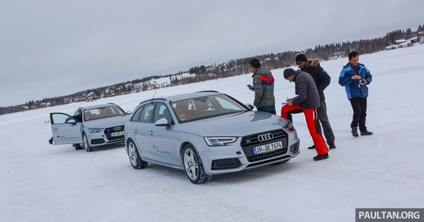 Audi Ice Driving Experience Finland with the S4 Avant – learning to drive in the winter with the aid of quattro Image #769954