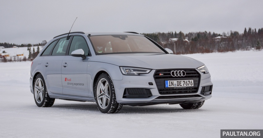 Audi Ice Driving Experience Finland with the S4 Avant – learning to drive in the winter with the aid of quattro Image #769956