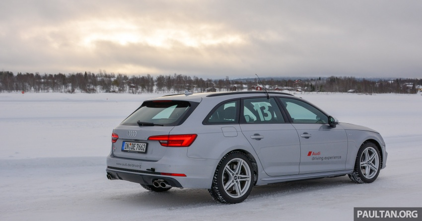 Audi Ice Driving Experience Finland with the S4 Avant – learning to drive in the winter with the aid of quattro Image #769957