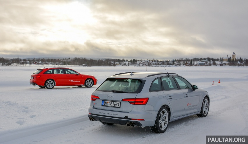 Audi Ice Driving Experience Finland with the S4 Avant – learning to drive in the winter with the aid of quattro Image #769959