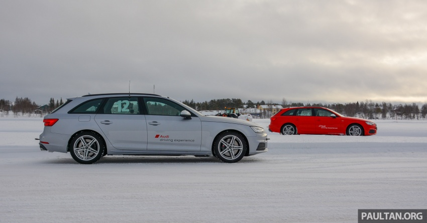 Audi Ice Driving Experience Finland with the S4 Avant – learning to drive in the winter with the aid of quattro Image #769960