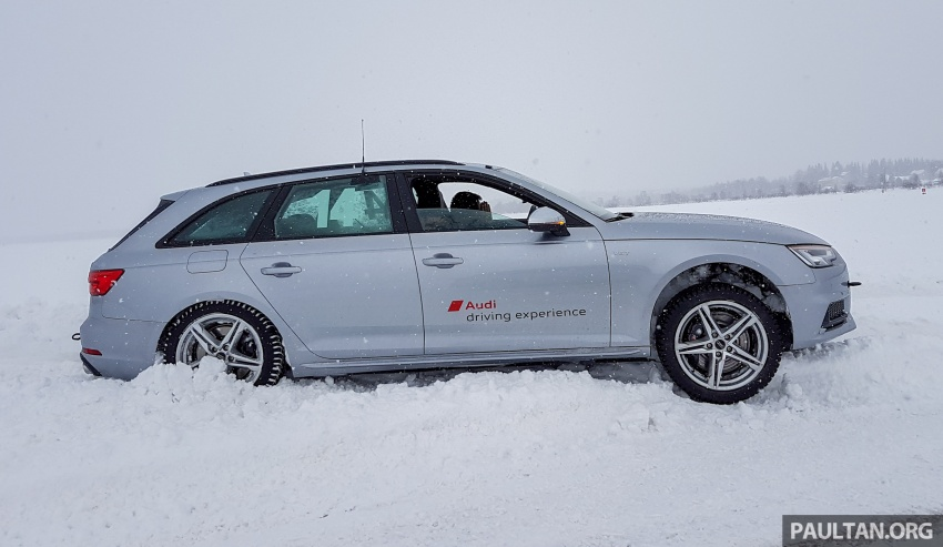 Audi Ice Driving Experience Finland with the S4 Avant – learning to drive in the winter with the aid of quattro Image #769961