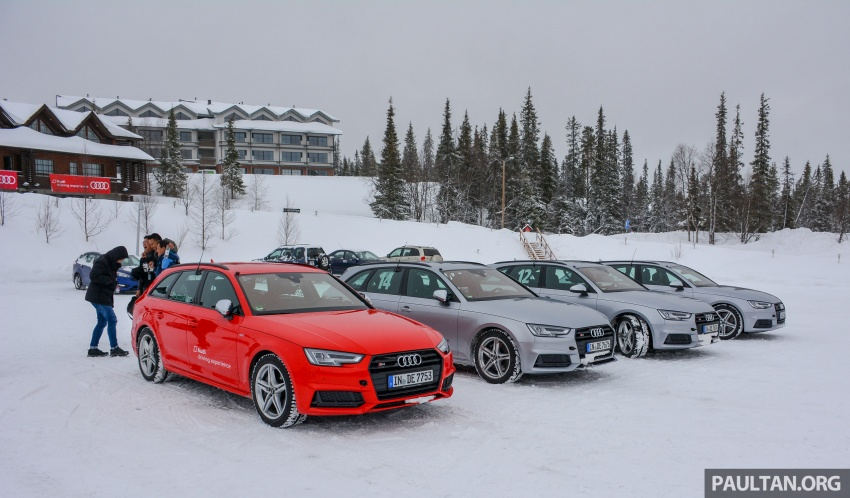 Audi Ice Driving Experience Finland with the S4 Avant – learning to drive in the winter with the aid of quattro Image #769962