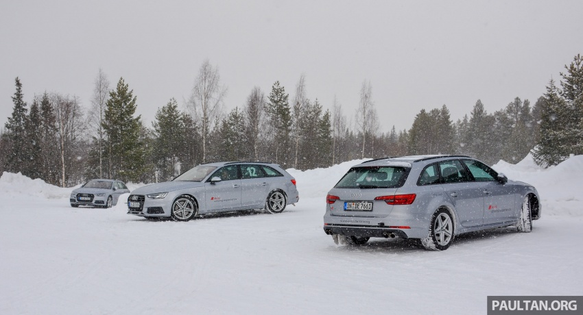 Audi Ice Driving Experience Finland with the S4 Avant – learning to drive in the winter with the aid of quattro Image #769963