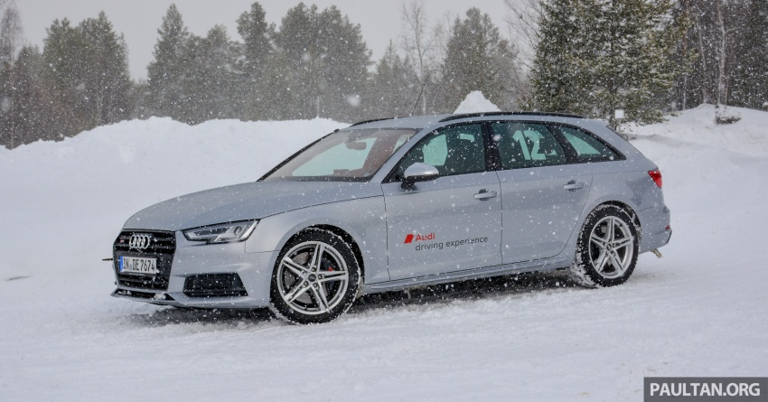 Audi Ice Driving Experience Finland with the S4 Avant – learning to drive in the winter with the aid of quattro Image #769964