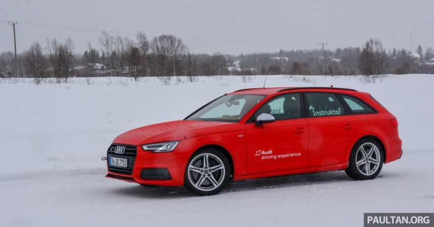 Audi Ice Driving Experience Finland with the S4 Avant – learning to drive in the winter with the aid of quattro Image #769965