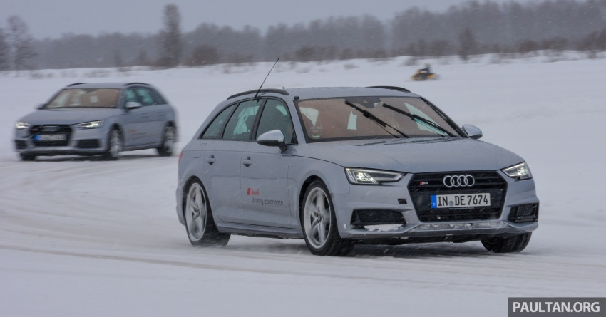 Audi Ice Driving Experience Finland with the S4 Avant – learning to drive in the winter with the aid of quattro Image #769966