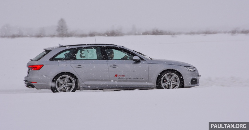 Audi Ice Driving Experience Finland with the S4 Avant – learning to drive in the winter with the aid of quattro Image #769968