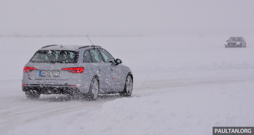 Audi Ice Driving Experience Finland with the S4 Avant – learning to drive in the winter with the aid of quattro Image #769969