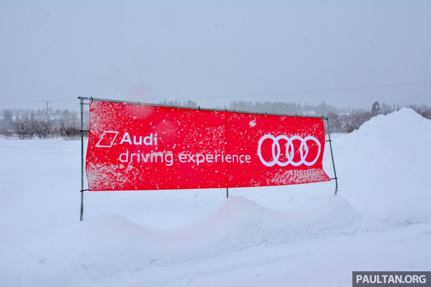 Audi Ice Driving Experience Finland with the S4 Avant – learning to drive in the winter with the aid of quattro Image #769971