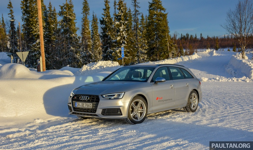 Audi Ice Driving Experience Finland with the S4 Avant – learning to drive in the winter with the aid of quattro Image #769972