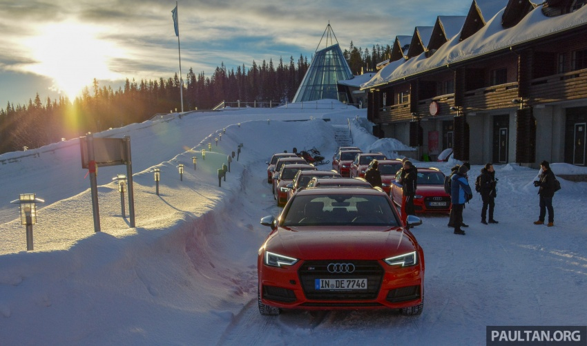 Audi Ice Driving Experience Finland with the S4 Avant – learning to drive in the winter with the aid of quattro Image #769973