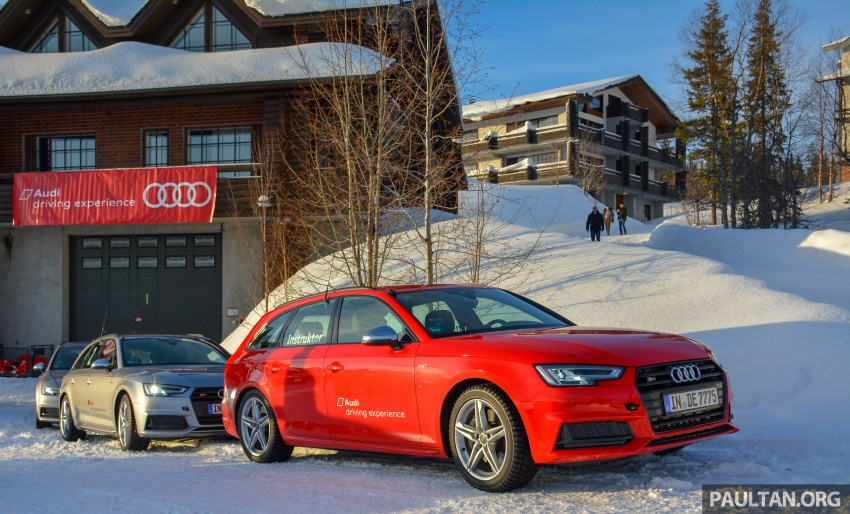 Audi Ice Driving Experience Finland with the S4 Avant – learning to drive in the winter with the aid of quattro Image #769974