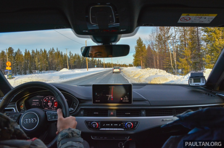 Audi Ice Driving Experience Finland with the S4 Avant – learning to drive in the winter with the aid of quattro Image #769976
