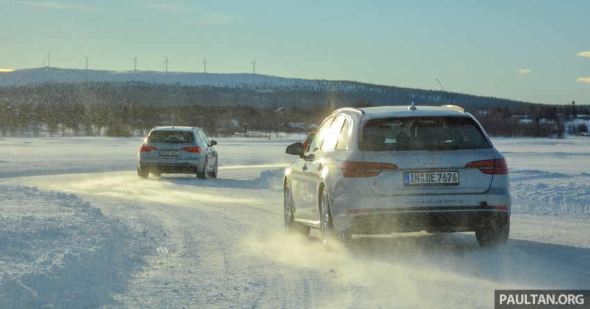 Audi Ice Driving Experience Finland with the S4 Avant – learning to drive in the winter with the aid of quattro Image #769977